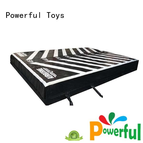inflatable airbag trampoline Powerful Toys