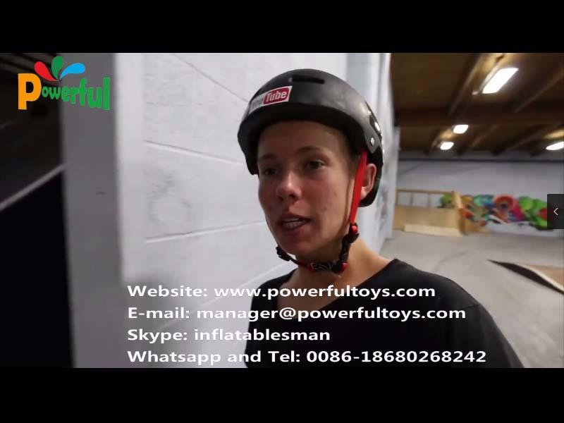 BMX airbag video