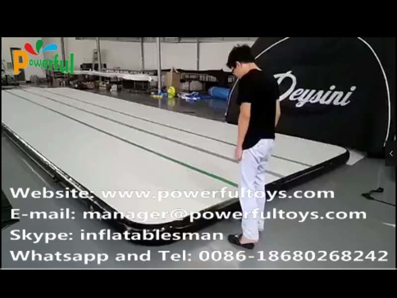 13.65mx4m air track