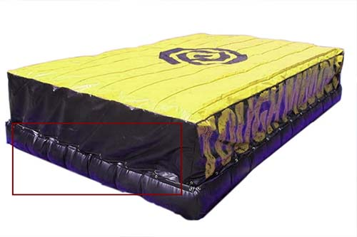 Powerful Toys trampoline airbag bulk-8