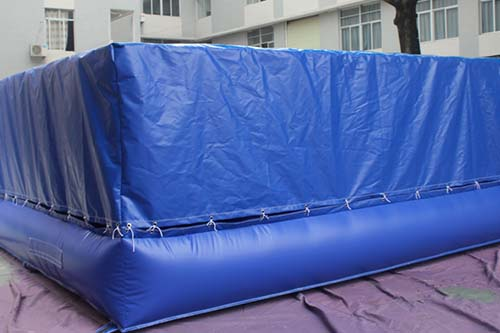 Wholesaler soft inflatable foam pit jump airbag-9