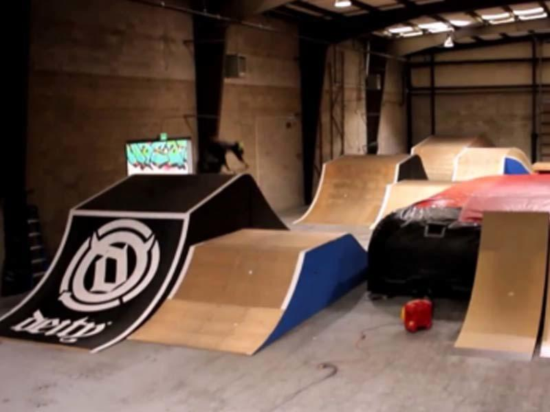 BMX Airbag for Wasatch Bike Park