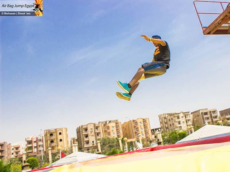 Airbag for Parkour Egypt