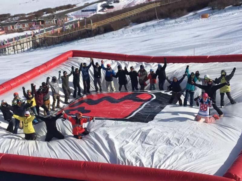 China Skiing Air Cushion Project