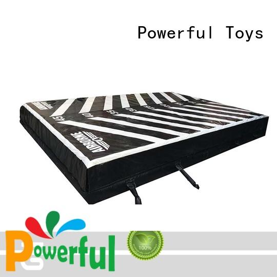 Powerful Toys airbag trampoline free delivery
