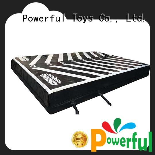 airbag trampoline trampoline for sale Powerful Toys