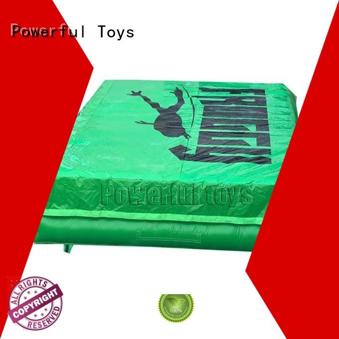 jump trampoline airbag pit trampoline Powerful Toys
