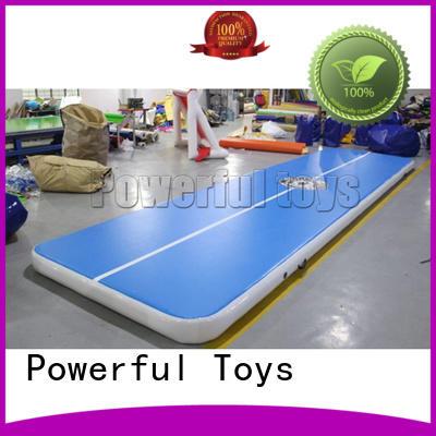 Powerful Toys blue air floor gymnastics gym for club