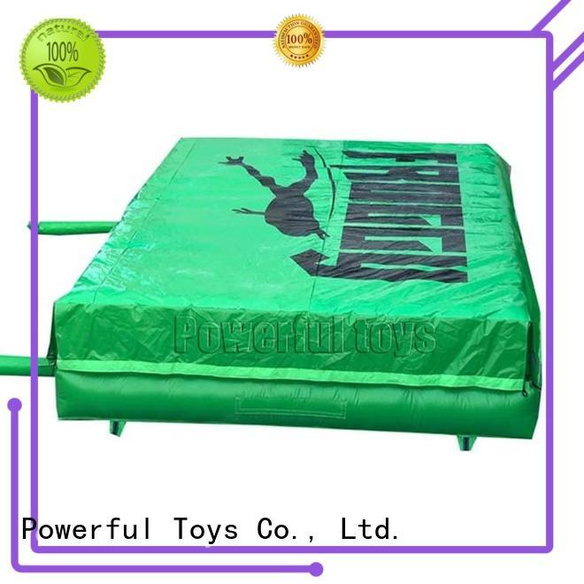 landing air trampoline bulk for wholesale Powerful Toys