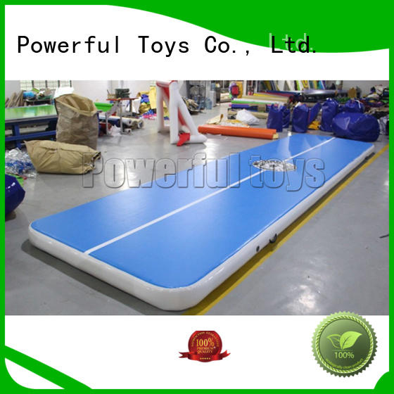 club air track for pool gymnastics park Powerful Toys