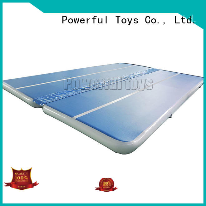 Powerful Toys air track gymnastics mat mat park