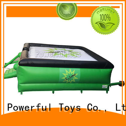 Powerful Toys customized free fall airbag giant for sport