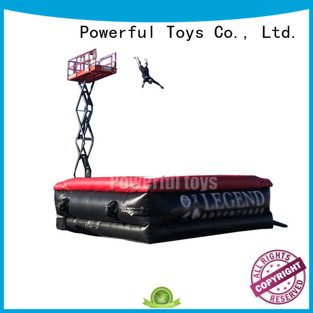 professional jumping air bag fall for skateboard Powerful Toys