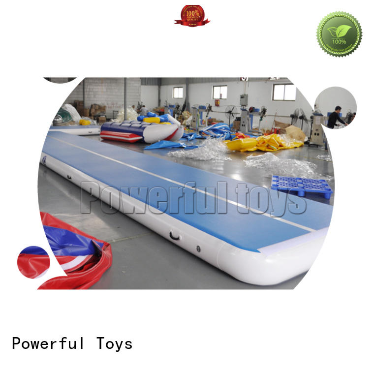 floor air track gymnastics mat products for dancing Powerful Toys