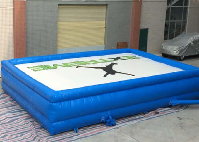customized free fall airbag for game