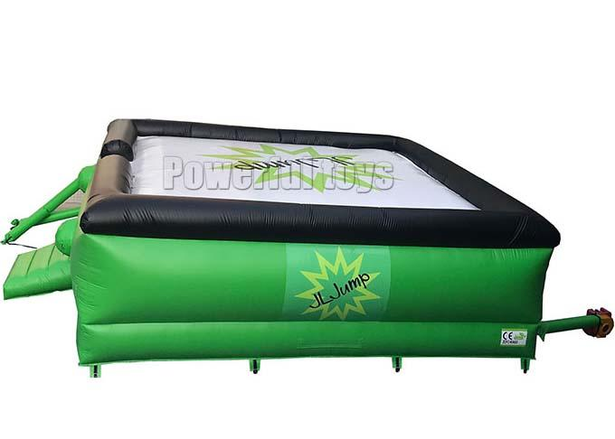 inflatable jumping airbag platform for skiing