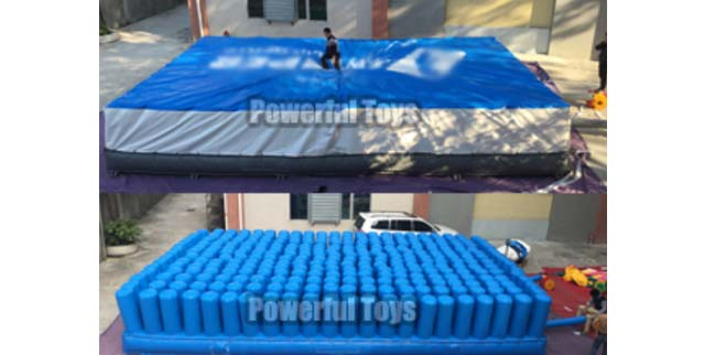 inflatable jumping airbag platform for skiing-3