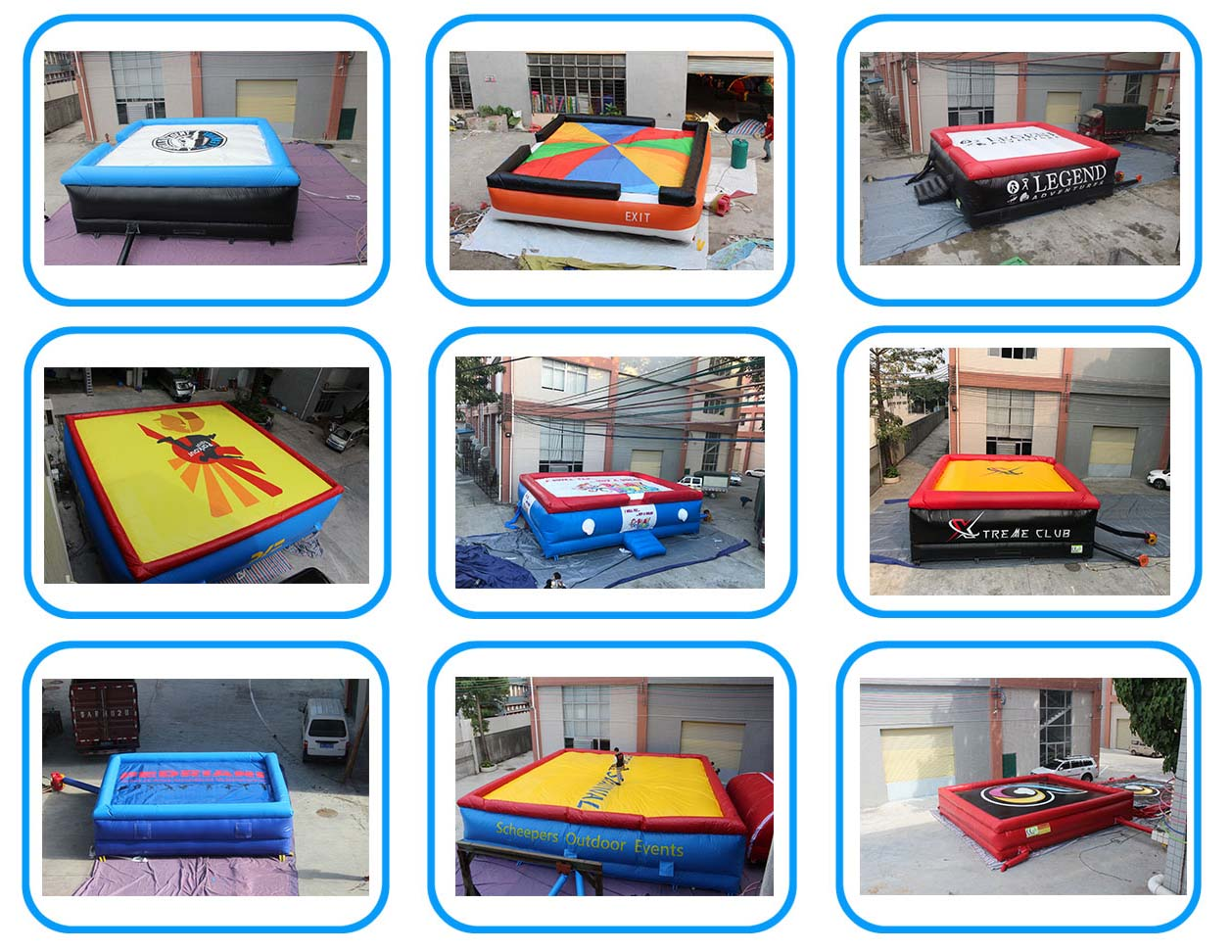 inflatable jumping airbag platform for skiing-9