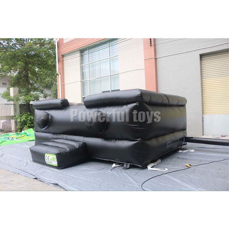 Stunt air bag for skateboard park