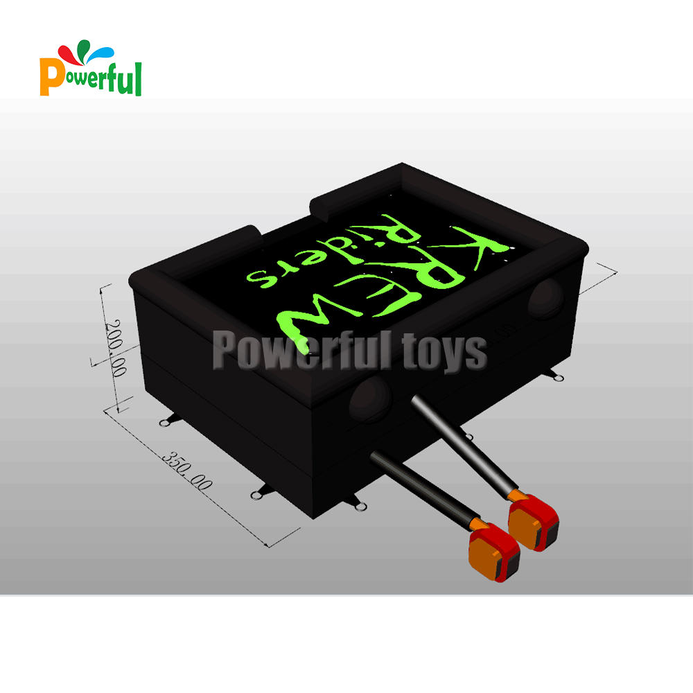 Powerful Toys free-fall freestyle airbags platform for skateboard