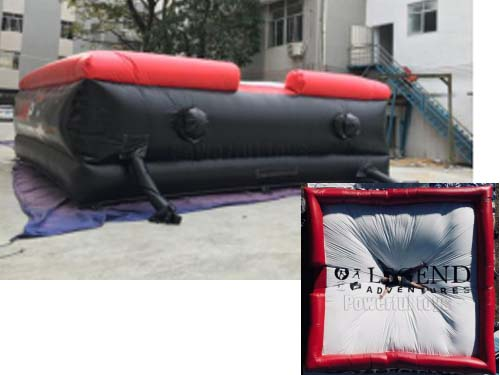 Powerful Toys inflatable freestyle air bag fall for jumping-8