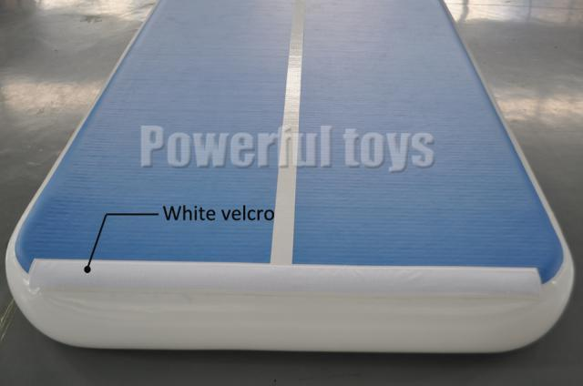 Powerful Toys air track mat for club