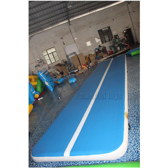 Powerful Toys longest air track trampoline top selling floor-4