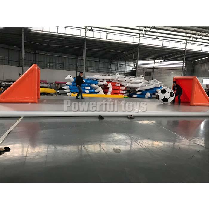 Big air track for trampoline park