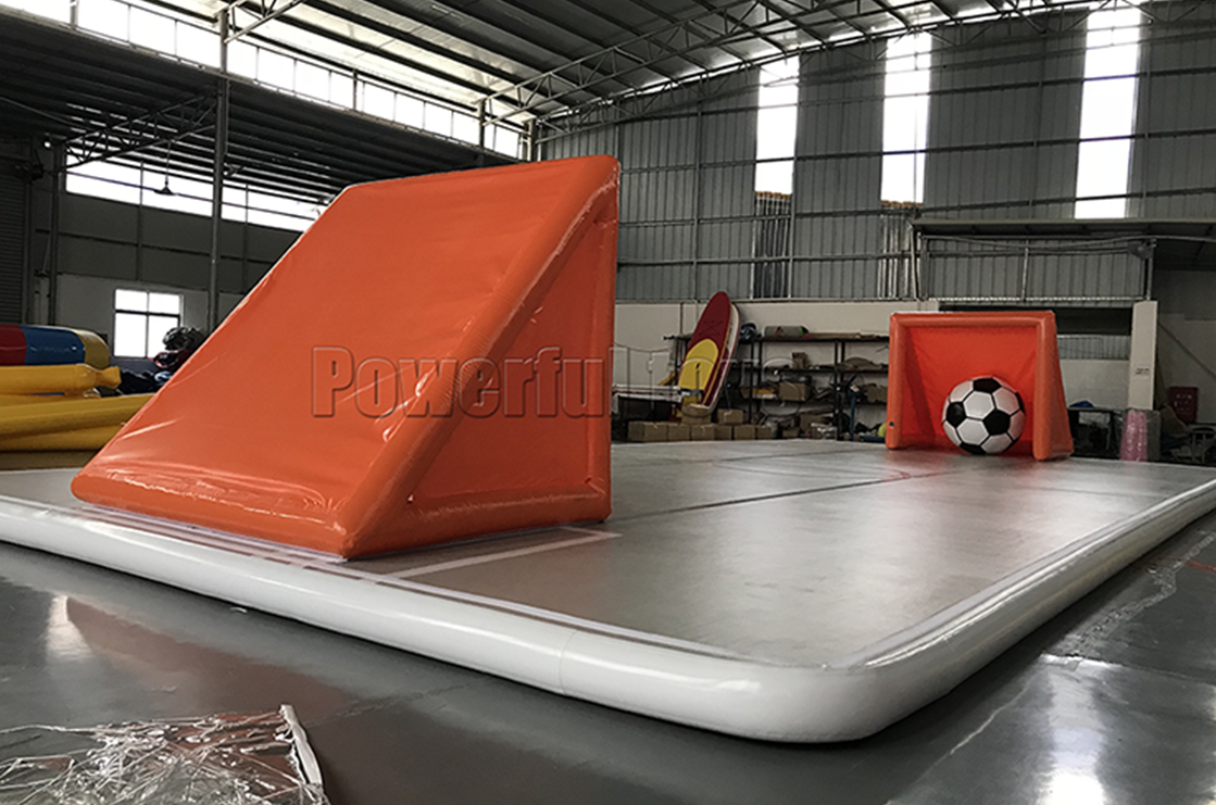 Gymnastic air track floor for football game-6