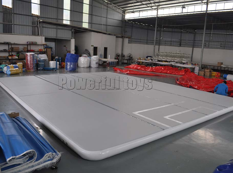 Gymnastic air track floor for football game-8