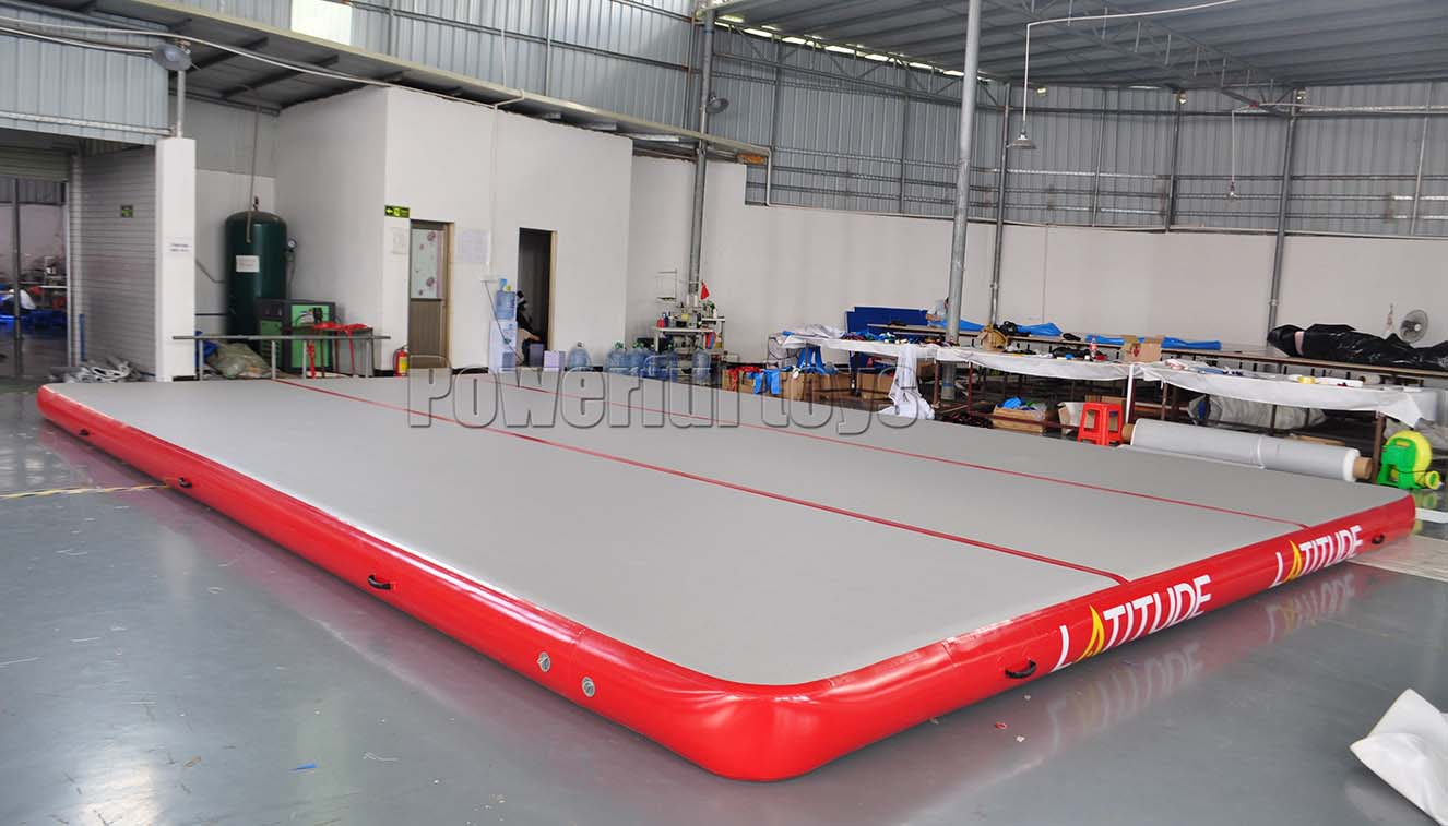 Powerful Toys air track tumbling mat gym for game-10