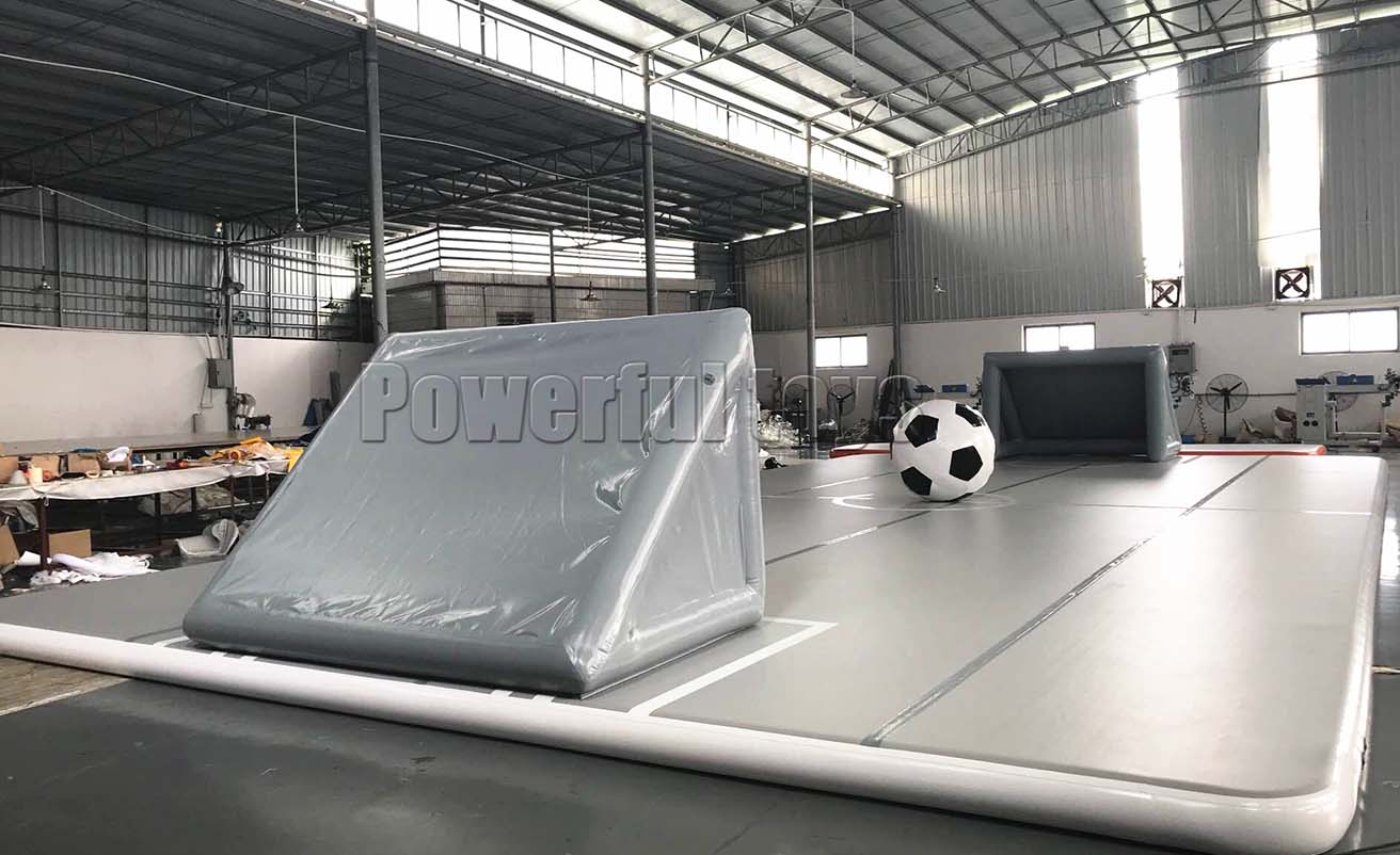 Gymnastic air track floor for football game-12
