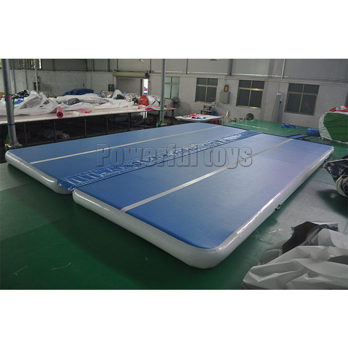 Powerful Toys Brand big football air track gymnastics price mat supplier