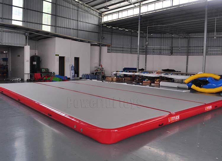 Powerful Toys inflatable inflatable air track top selling for cheer leading