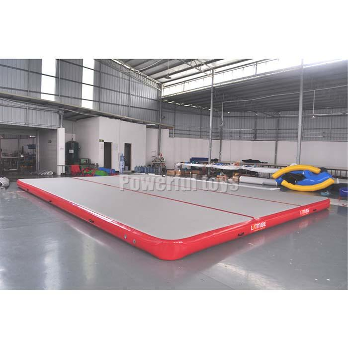 Powerful Toys tumble air track slip and slide quality trampoline