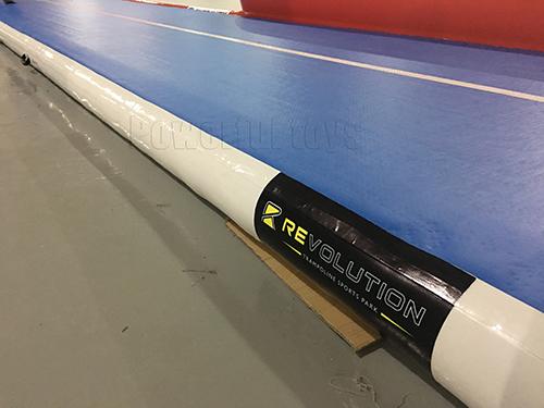 Powerful Toys gymnastic inflatable air track floor-3