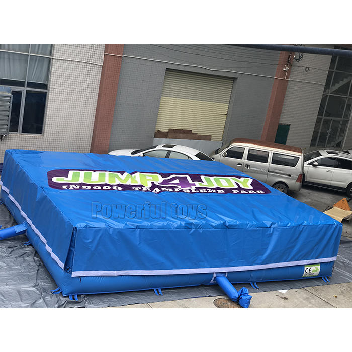 Trampoline park jumping air cushion