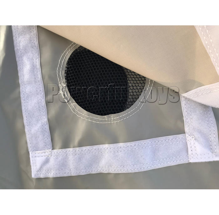 Inflatable bicycle air bag for bmx