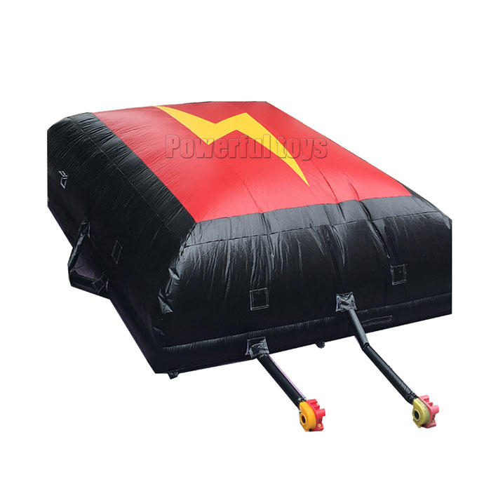 Inflatable bike airbag for BMX