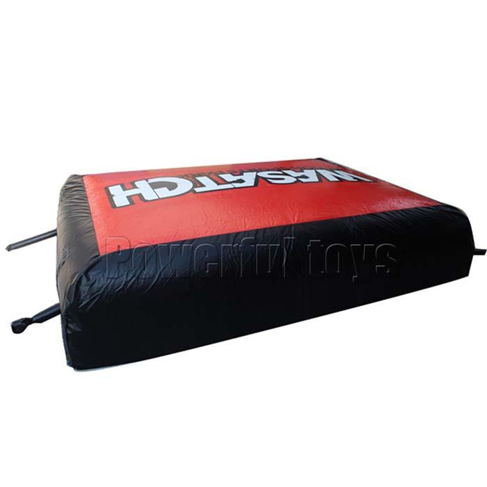 Freestyle bicycle stunt air bag