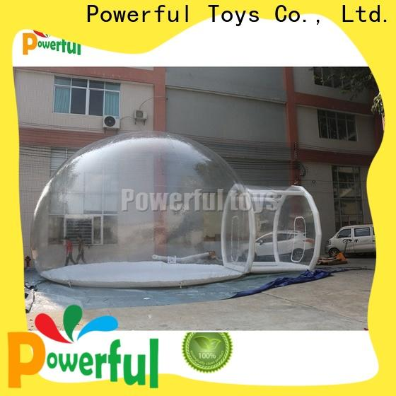 inflatable bubble tent factory direct supply