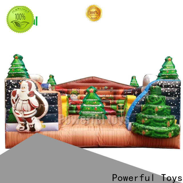 Powerful Toys inflatable bouncer castle top brand for wholesale