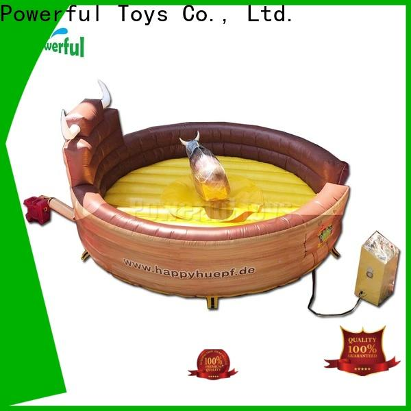 Powerful Toys best Inflatable rodeo bull high quality at sale