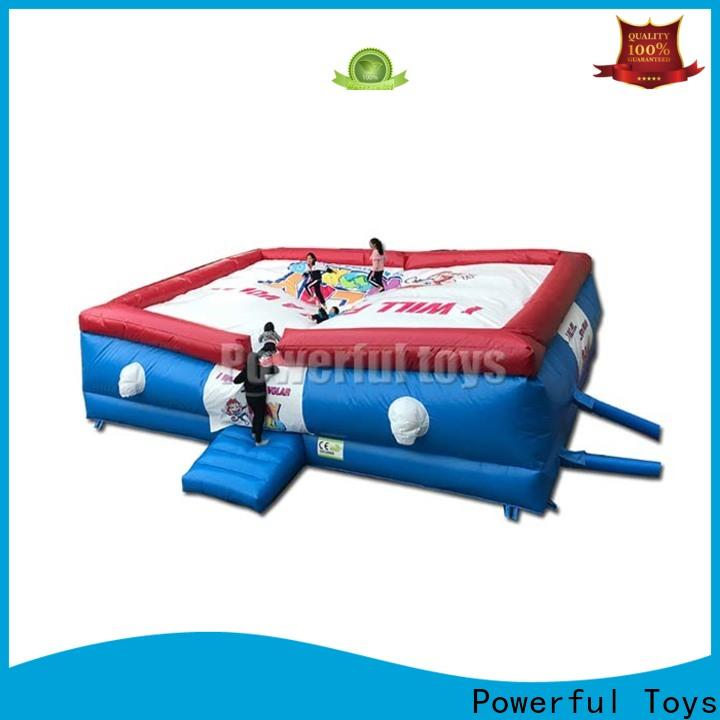 Powerful Toys freestyle air bag freed-rop for adventure