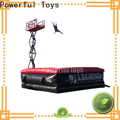 Powerful Toys air stunt fall for jumping