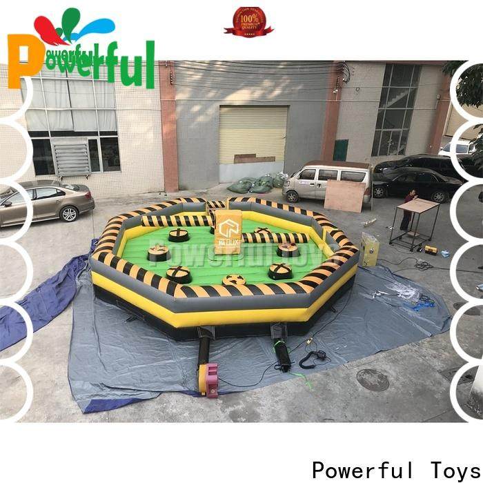 top brand wipeout inflatable outdoor for amusement park