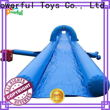 Powerful Toys inflatable water slides for adults light weight amusement park