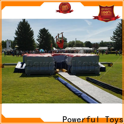 Powerful Toys airbag trampoline cheapest factory price for amusement park