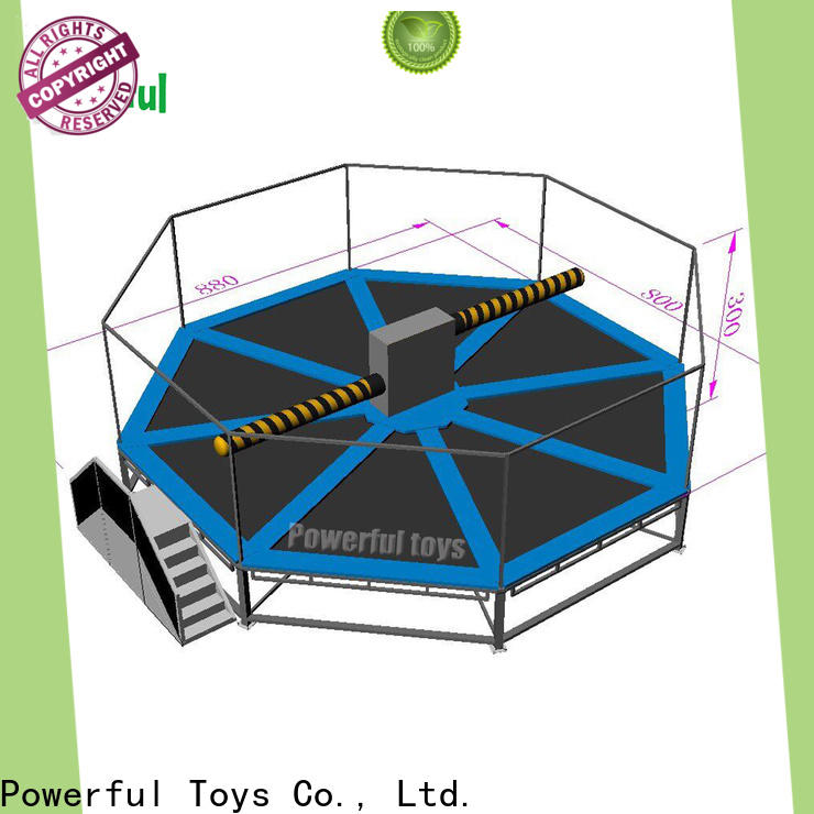 top brand wipeout inflatable outdoor best factory price