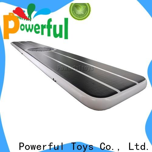 Powerful Toys air track floor mattress for big trampoline